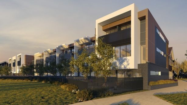 There will also be 19 three-level townhouses, all with secure basement car parking. Photo: Supplied
