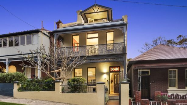 The White Street Balmain home of Angela Catterns and Charlie Chan is expected to sell for more than $2.9 million. Photo: domain.com.au