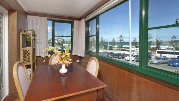 The view of Bondi Beach from inside the house. Photo: Supplied
