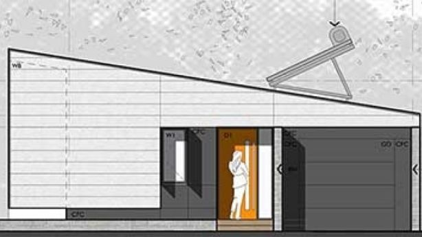 Three designs for a single-storey home are available under the Design for Place initiative. Photo: yourhome.gov.au