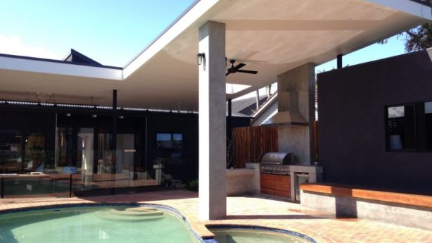 ... into a poolside retreat. Photo: Supplied
