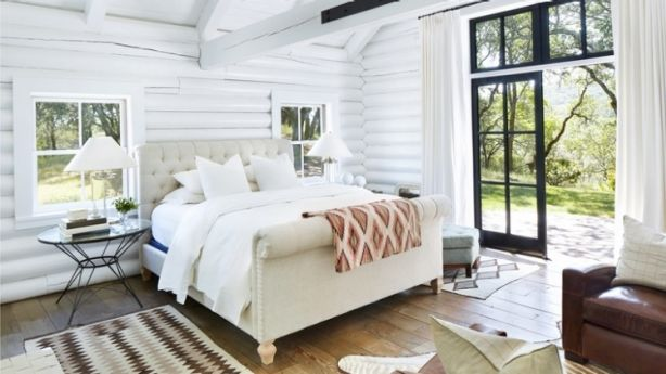 A growing trend in the UK, is a second master bedroom the latest must-have for Australia's high-end house hunters? Photo: Trinette Reed Photography