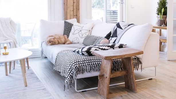 Even small spaces can feel roomy with careful planning. Photo: decor8blog.com