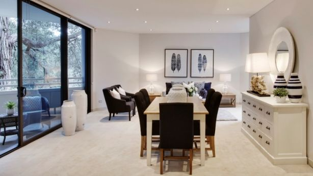 After: Sellers turn to professional stylists to improve the chances of selling a property.