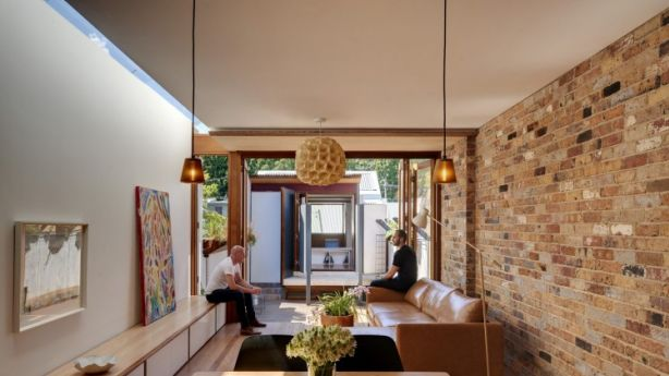Clever planning during the renovation allowed the owners to triple their floor space from 60 square metres to 180 square metres. Photo: Michael Nicholson