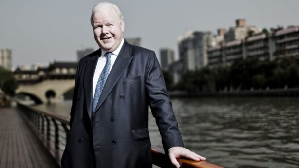 ANZ chief Mike Smith in the Chinese city of Chengdu in 2013. Photo: Qilai Shen.
