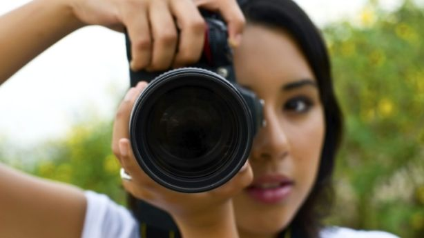 If you're going to take your own property photos, avoid using your phone, instead buy or borrow professional equipment. Photo: iStock