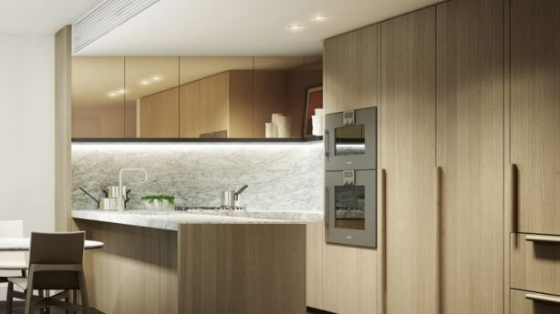 Artists' impression: The Fawkner interiors were designed by renowned design firm, KPDO. Photo: Supplied