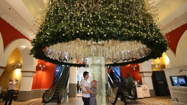 Move over, QVB Swarovski Christmas Tree. You have some competition. Photo: Louise Kennerley