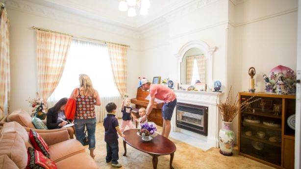 The home had been owned by the same family for 50 years. Photo: Anna Kucera