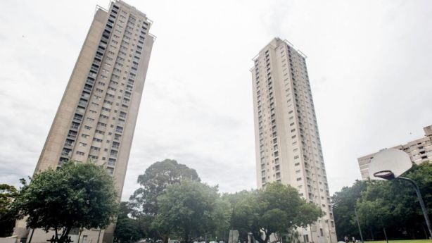 The Matavai Tower public housing estate in Waterloo is to be redeveloped. Photo: Cole Bennetts