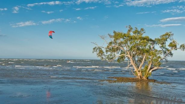 Nudgee has a beach? This hidden paradise is located 20 minutes north of Brisbane'S CBD. Photo: Supplied