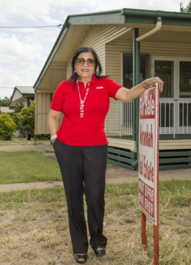 Moranbah Real Estate owner Bella Exposito says investors have lost a bundle on houses in Central Queensland. Photo: Daryl Wright