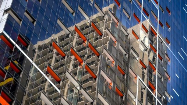 A record number of CBD apartments are being built in Melbourne. Photo: Penny Stephens