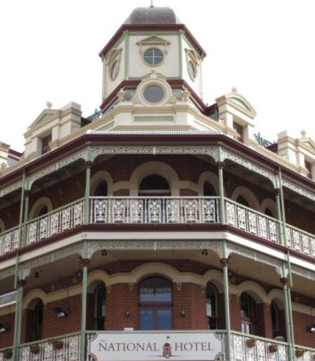 National Hotel Photo: WA Heritage Council