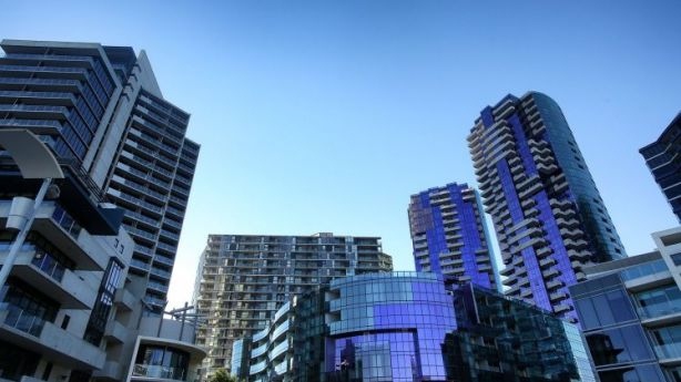 Not just Docklands: a growing number of suburbs face an oversupply of apartments. Photo: Graham Denholm