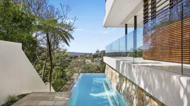 The pool at 19 Parriwi Road, Mosman, NSW. Photo: domain.com.au