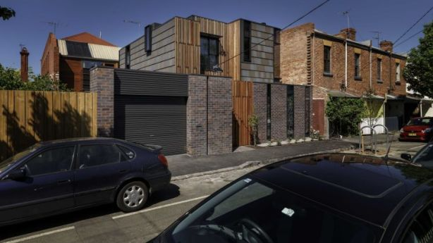 Philip Harmer intended this North Fitzroy house to resemble a ''miniature cityscape''. Photo: Supplied