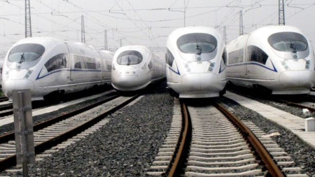 It is claimed that a high speed rail has the potential to transform the Australian property market.