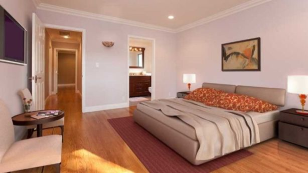 A room after virtual staging. Photo: Michael Asgian