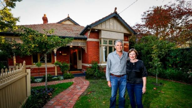 Diana King and husband Brian are selling their house at 16 Central Park Road in Malvern East. Photo: Eddie Jim