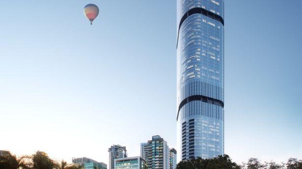 An artist's impression of Brisbane's Skytower. Photo: supplied