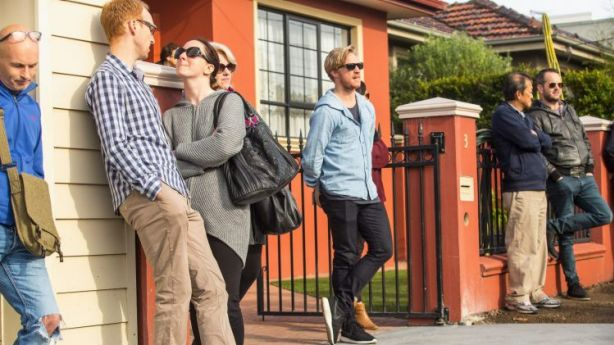 Young home buyers are thinking outside the box to save for a home deposit. Photo: Chris Hopkins