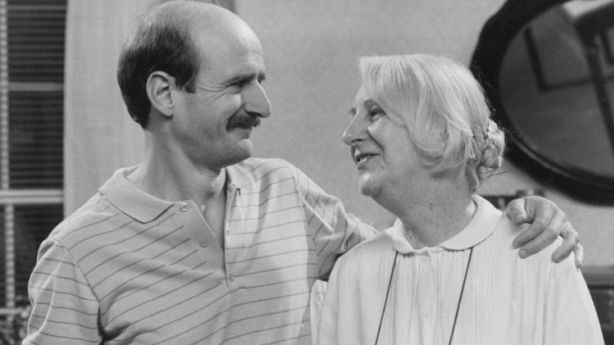 Garry McDonald and Ruth Cracknell in the television program Mother and Son. Photo: Supplied by the ABC