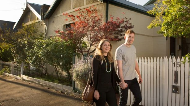 First home buyer numbers are being encouraged to 'ren-vest' by buying in areas they don't want to live and renting closer to the city. Photo: Simon Schluter