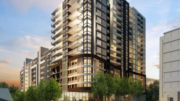 Artist's impression of the Grand H development in Hurstville. Photo: Home789.com.au