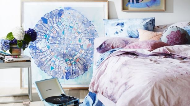 Learn how to create Emma Cleine's mandala prints at the upcoming Brisbane workshop. Photo: Armelle Habib