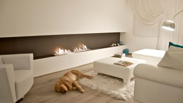 The XL900 Eco Smart fireplace. Photo: Eco Smart