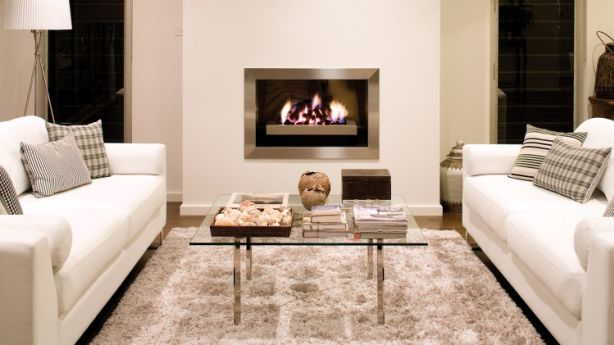 A Real Flame Elegance gas fire. Photo: Real Flame