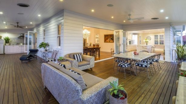 The home has been designed for entertaining. Photo: Supplied