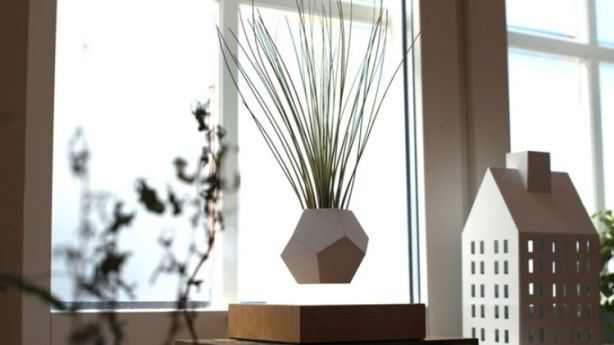 Your indoor plants can truly levitate with the special planters available to buy now. Photo: LYFE