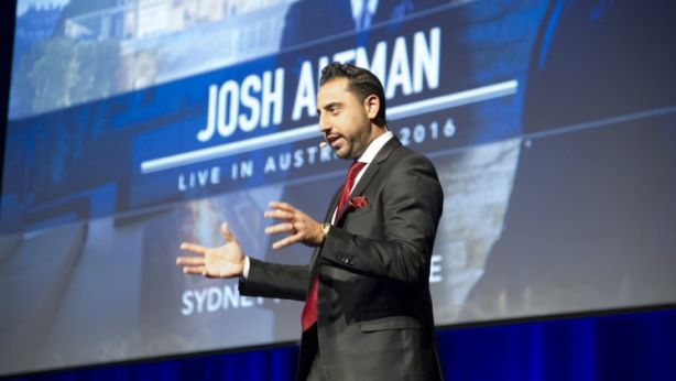 Million Dollar Listing LA's Josh Altman in Sydney. Photo: Chris Johnson