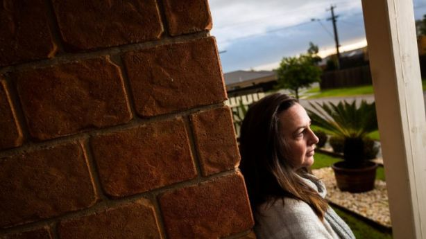 Kerryn and her two daughters, aged 18 and 21, struggled to find a rental. Photo: Chris Hopkins