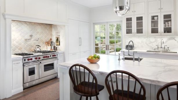 Marble benchtops are not practical, particularly for the price. Photo: Stocksy