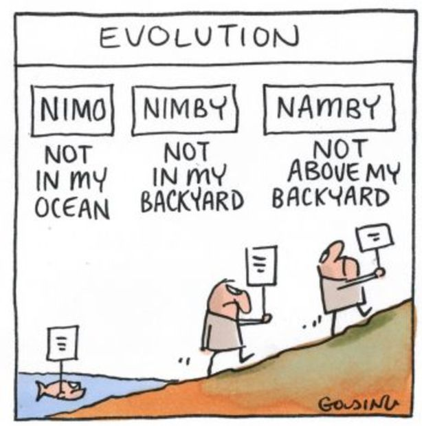 NIMBYism has changed over time. Photo: Matt Golding
