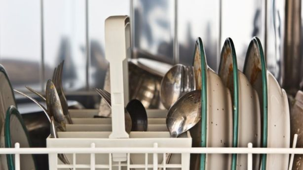 Heard stories of bacterial nasties growing inside the belly of your dishwasher? Photo: Melanie Kintz