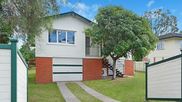 Queensland real estate agent Zac McHardy used Facebook Live to show buyers though this Geebung property. Photo: Supplied