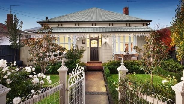 This gorgeous house at 122 Blackwood Street is nestled in Yarraville in the west, where the median house price rose the fastest over the year to June. Photo: Supplied