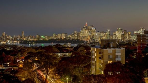 Harbour views from a Mosman apartment on the market with a price guide of $900,000 to $950,000. Photo: Domain.com.au