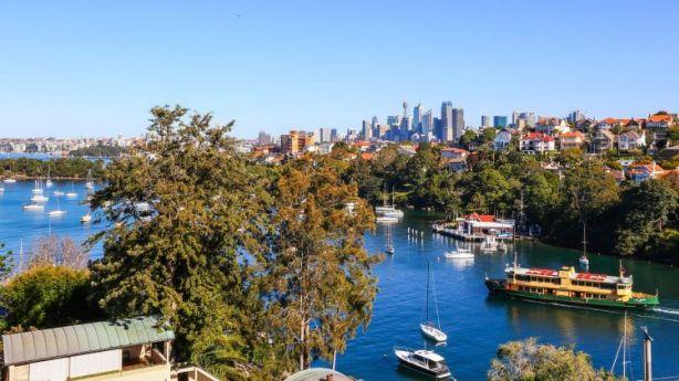 Views to the city from 8/6A McLeod Street, Mosman. Photo: Domain.com.au