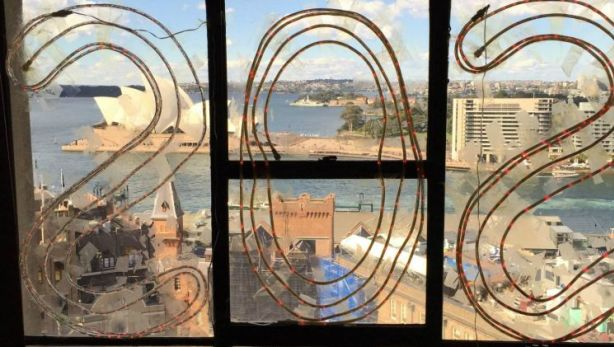 The view of the Sydney Opera House from one of the apartments in the Sirius Complex Photo: Ingrid Fuary-Wagner