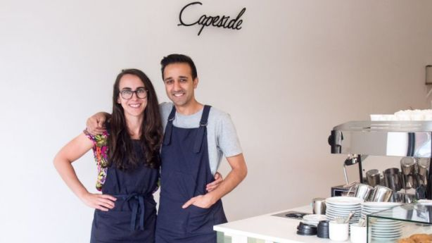 Hannah Lancman and Parv Bhullar have brought first-rate specialty coffee to Heidelberg with the opening of Capeside. Photo: Nola James