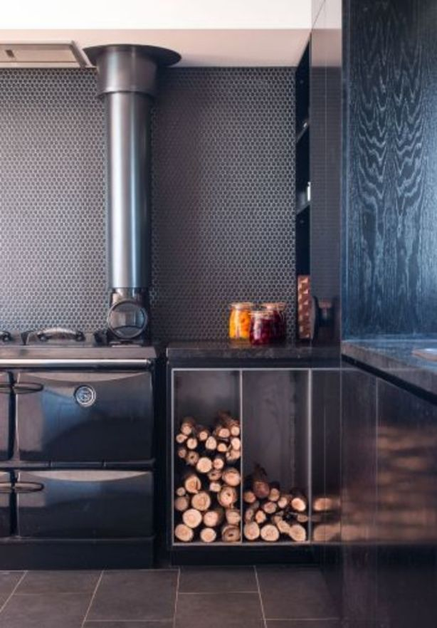 Wood fires are used to heat the home and for a major proportion of the cooking. Photo: Jaime Diaz-Berrio