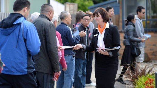 Many tenants offer more rent when they see a lot of parties at open for inspections. Photo: Pat Scala