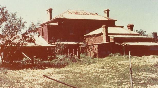 Monte Cristo was run down when the Ryans bought it in 1963. Photo: Supplied