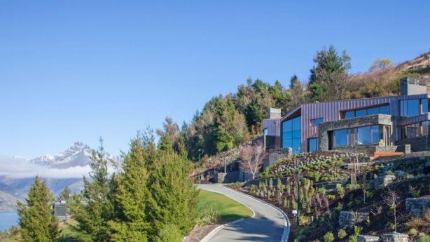 Copper House, in New Zealand's beautiful Queenstown. Photo: Unique Estates